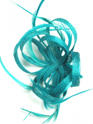 Teal Fascinator Cheap Teal Blue Fascinator Fascinator